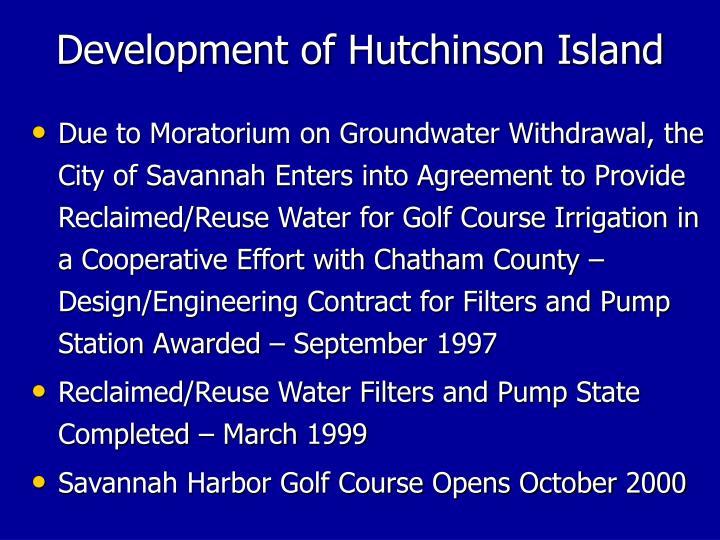 Development of Hutchinson Island