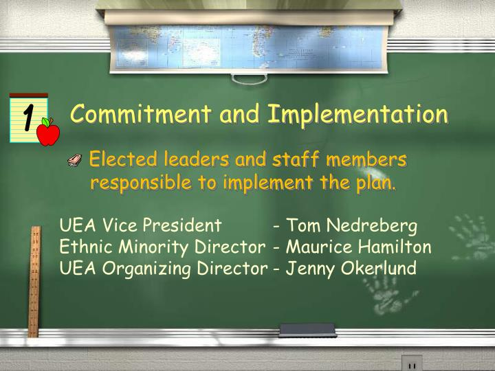 Commitment and Implementation