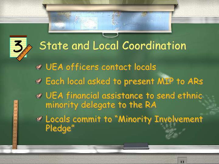State and Local Coordination