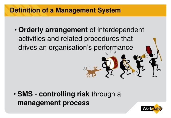 Definition of a Management System