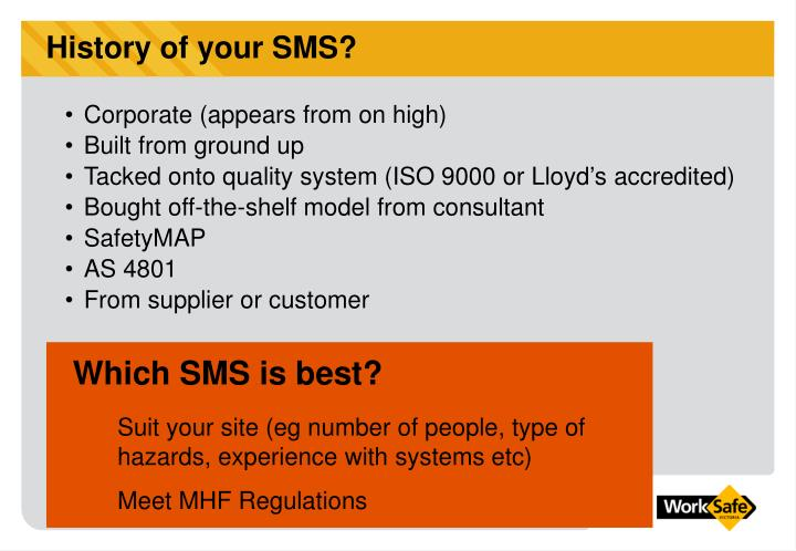 Which SMS is best?