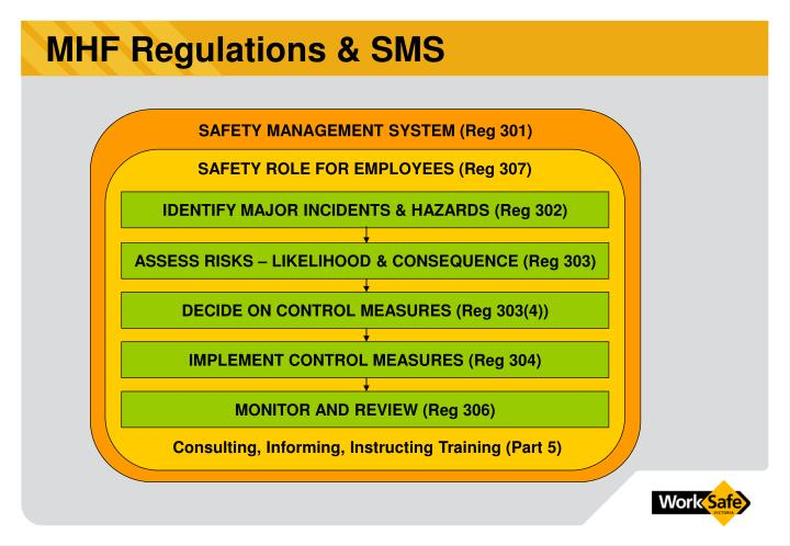 SAFETY ROLE FOR EMPLOYEES (Reg 307)