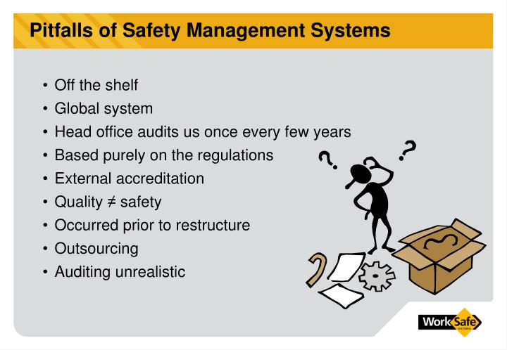 Pitfalls of Safety Management Systems