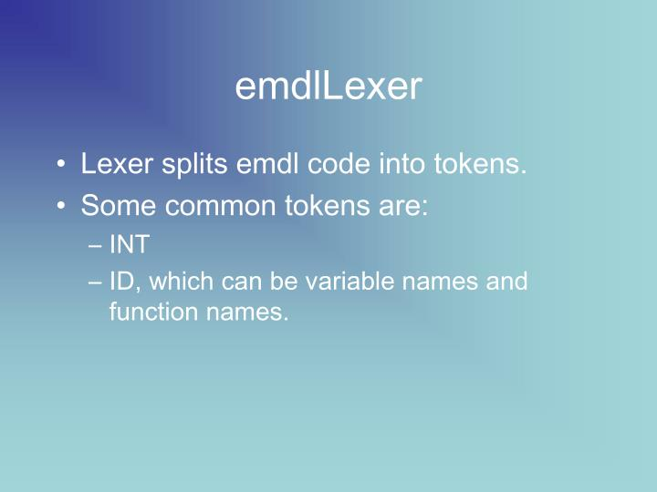emdlLexer