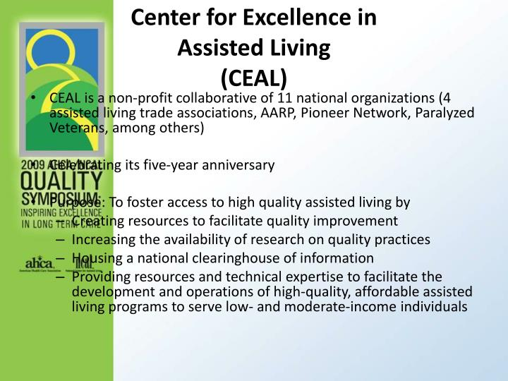 Center for Excellence in