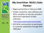 my innerview ncal s data partner