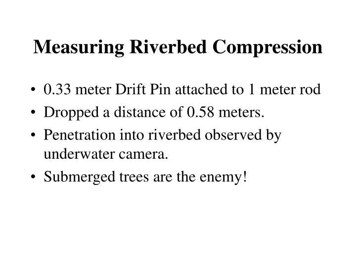 Measuring Riverbed Compression