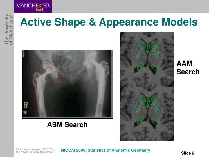 Active Shape & Appearance Models
