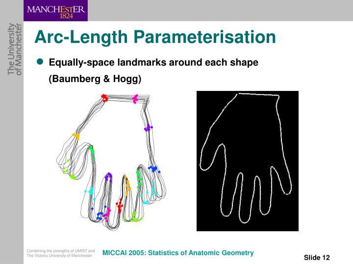 Arc-Length Parameterisation
