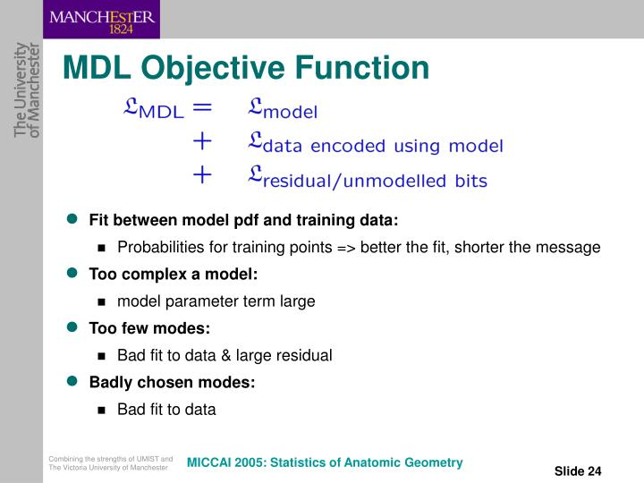 MDL Objective Function