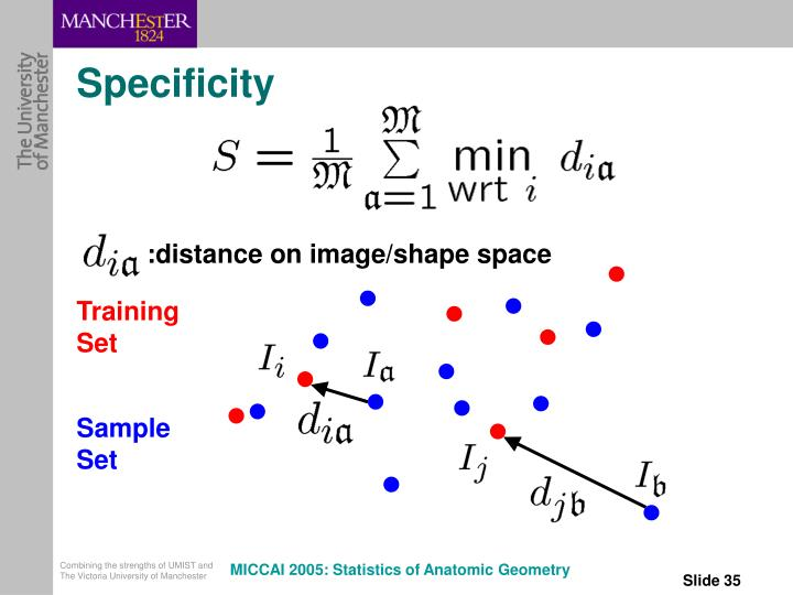 :distance on image/shape space
