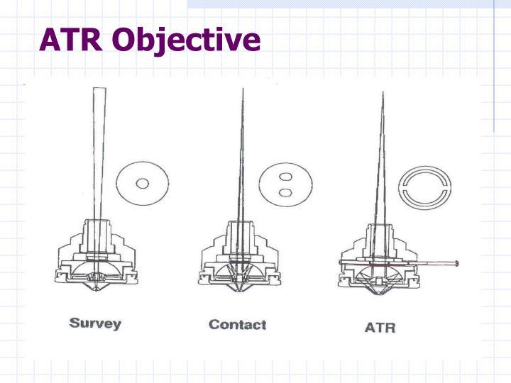 ATR Objective