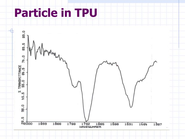 Particle in TPU
