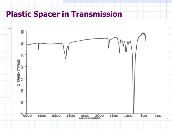 Plastic Spacer in Transmission