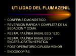 utilidad del flumazenil