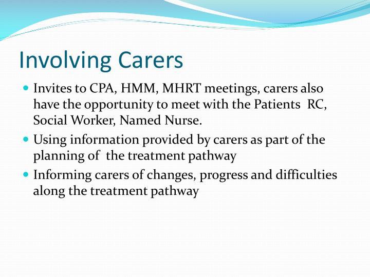 Involving Carers