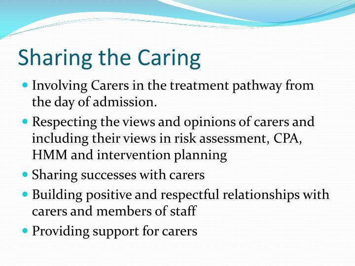 Sharing the Caring