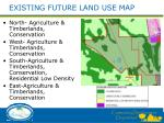 existing future land use map