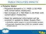 public facilities impacts1
