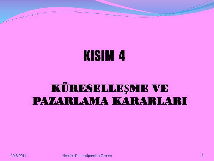 KISIM  4