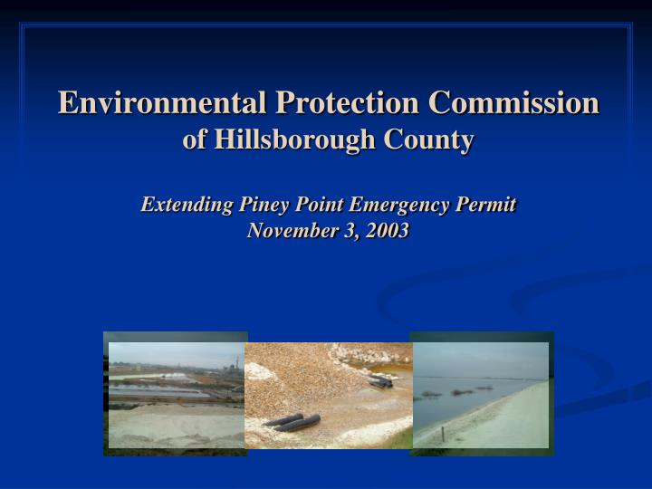 Environmental Protection Commission