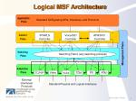 logical msf architecture