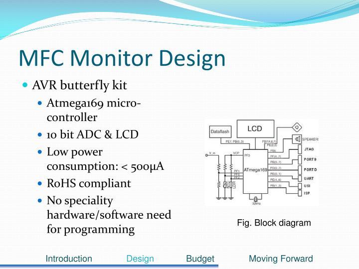 MFC Monitor Design