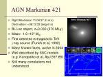 agn markarian 421