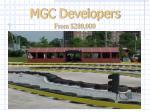 mgc developers