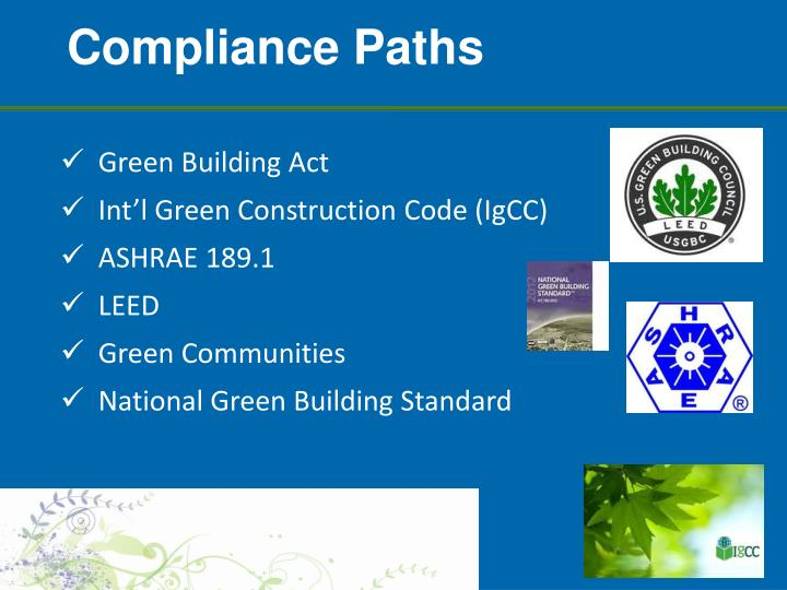 Compliance Paths
