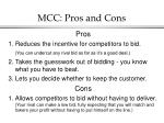 mcc pros and cons