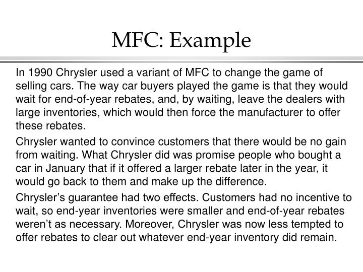 MFC: Example