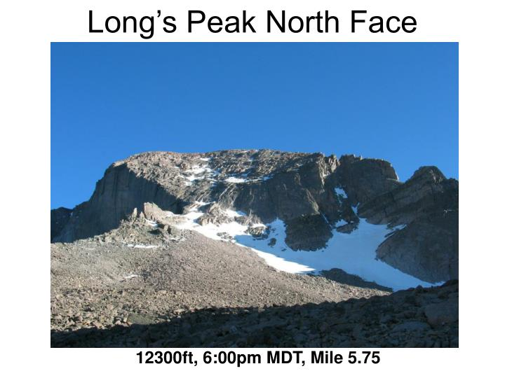 Long's Peak North Face