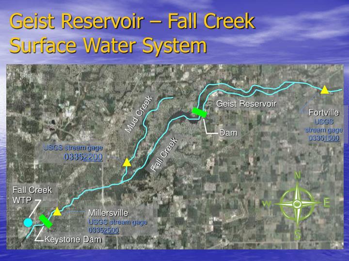 Geist Reservoir – Fall Creek