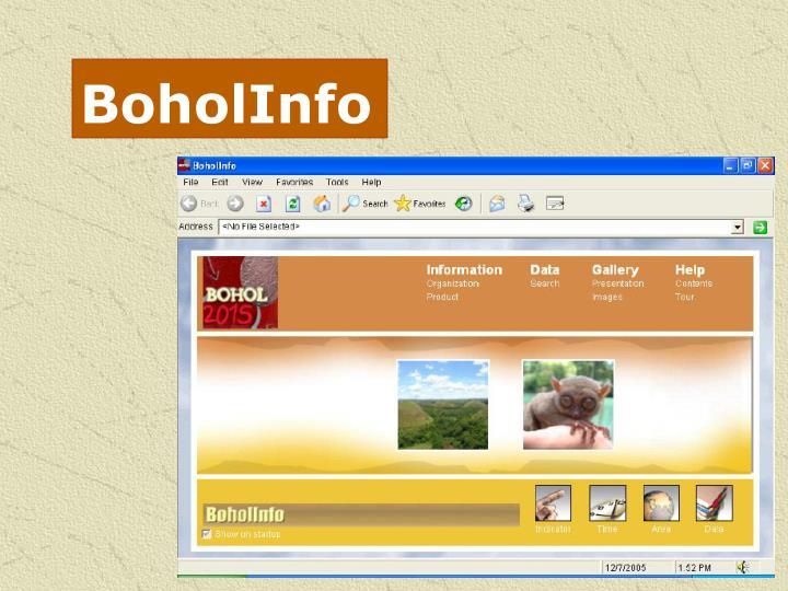 BoholInfo