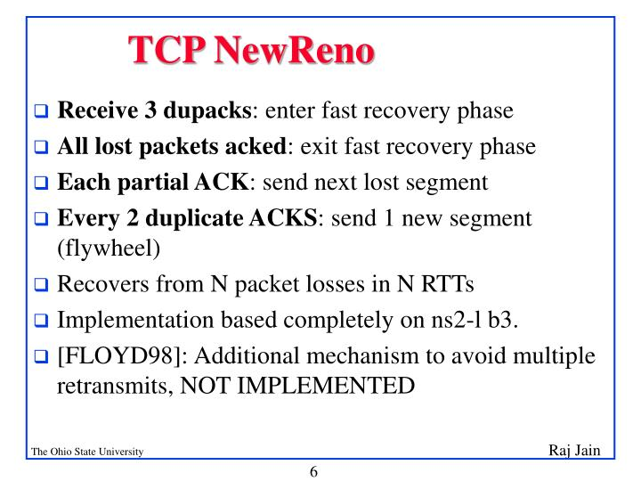 TCP NewReno