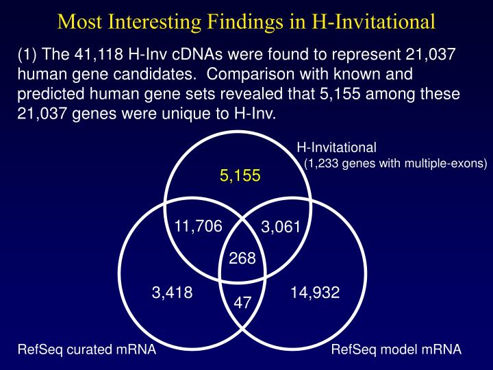 Most Interesting Findings in H-Invitational