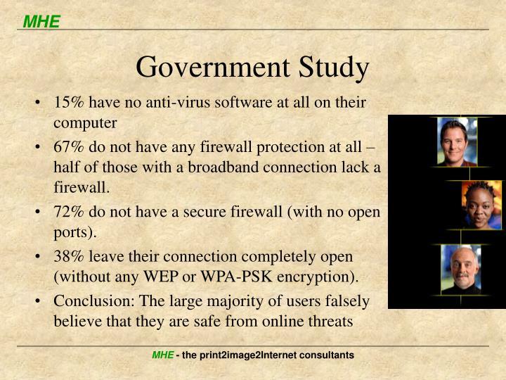 Government Study