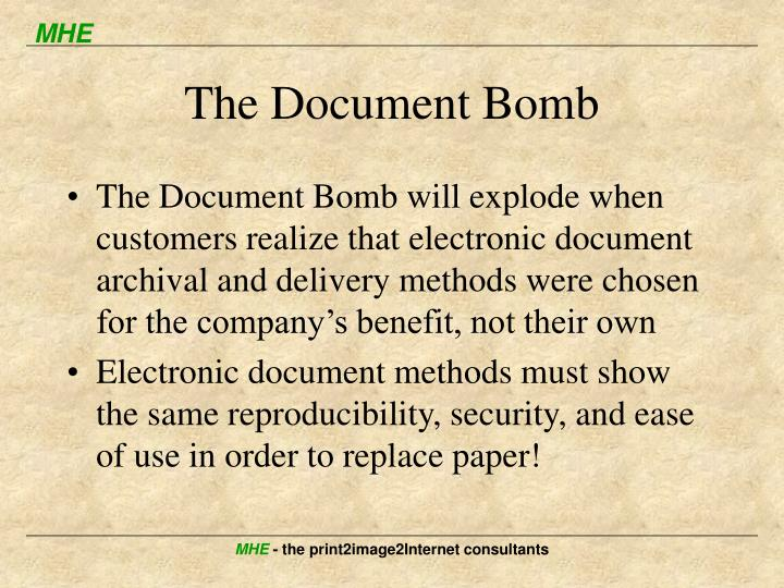 The Document Bomb