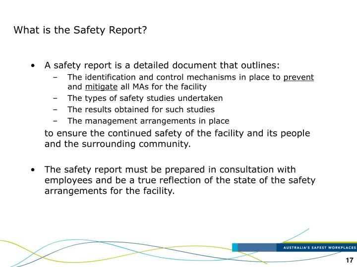 What is the Safety Report?