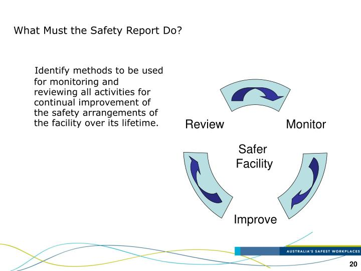 What Must the Safety Report Do?