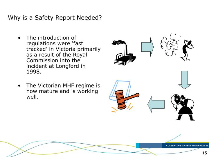 Why is a Safety Report Needed?