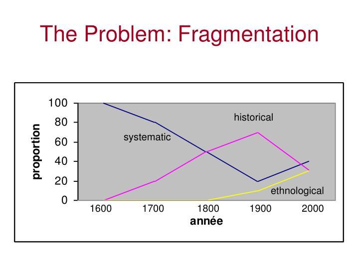 The Problem: Fragmentation