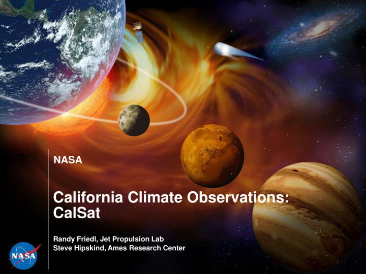 california climate observations calsat