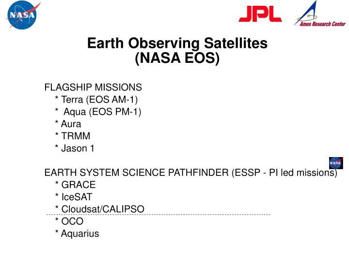 Earth Observing Satellites