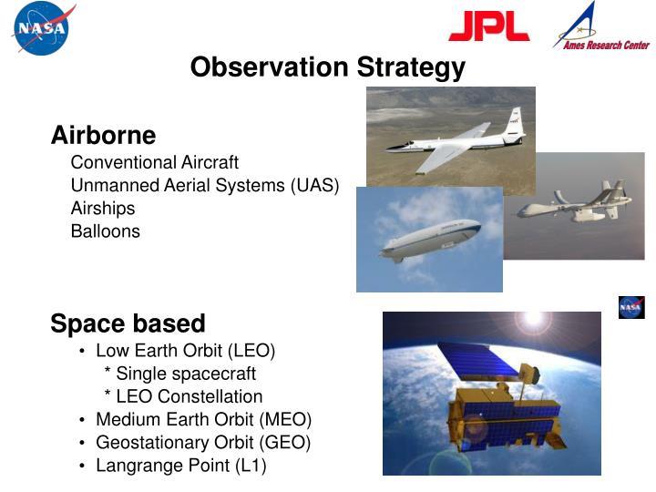 Observation Strategy