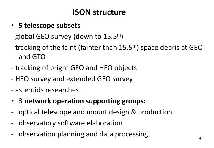 ISON structure