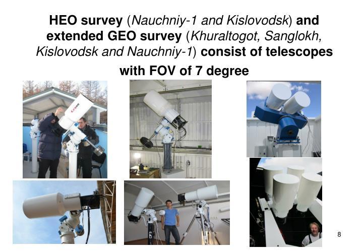 HEO survey