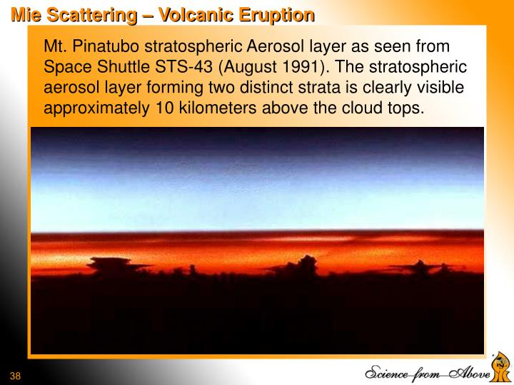 Mie Scattering – Volcanic Eruption
