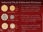 industrial nb 3 sn fabrication processes